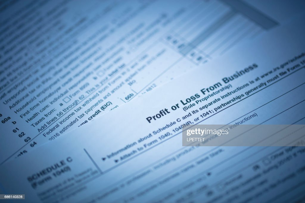 Tax Form And Money Stock Photo | Getty Images