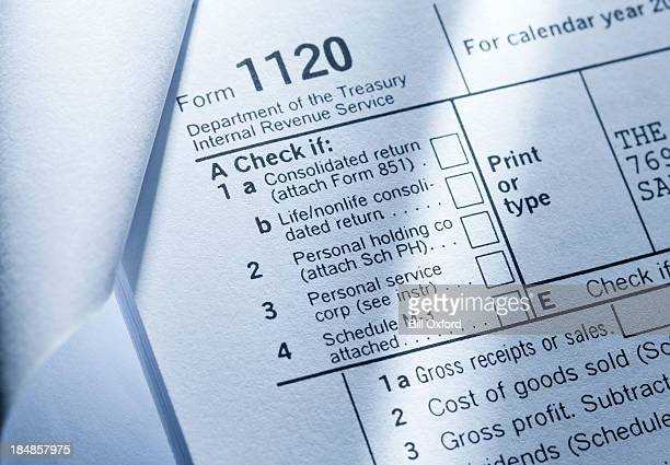 tax form - 1040 tax form stock photos and pictures