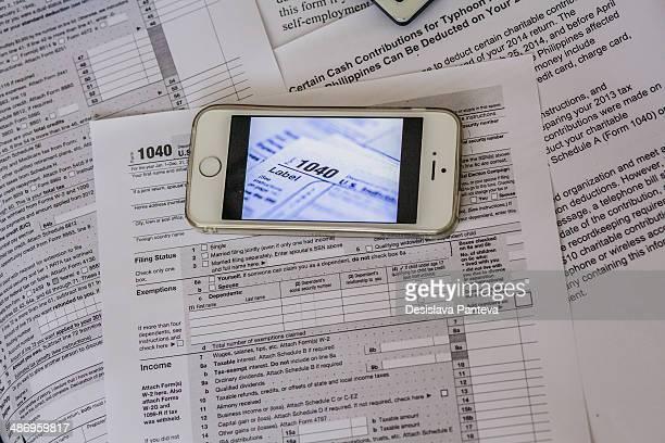 USA tax form