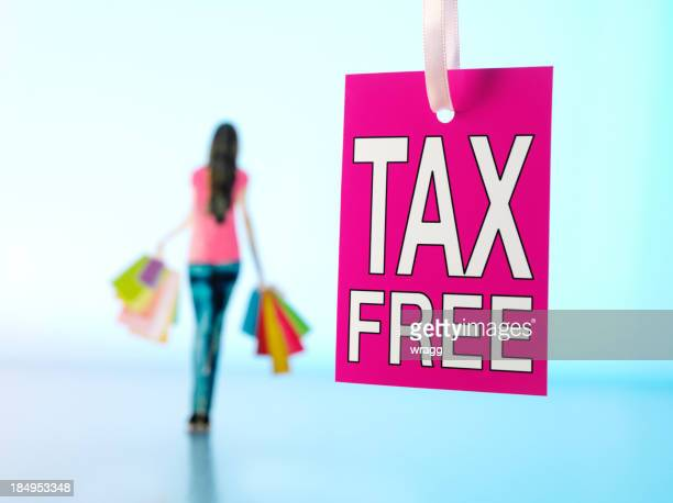 Tax Free Shopping Label