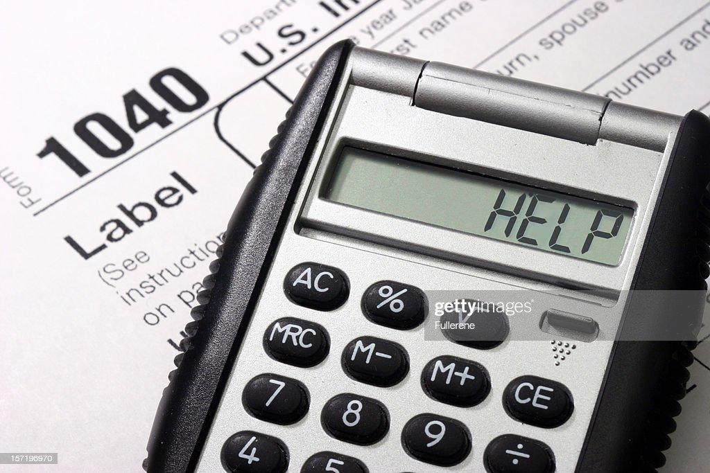 Tax Help : Stock Photo
