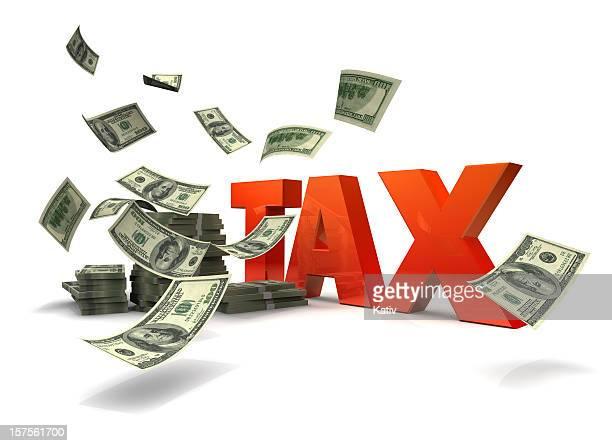 impostos de dinheiro - devolver - fotografias e filmes do acervo