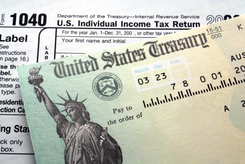Tax return check 144229773