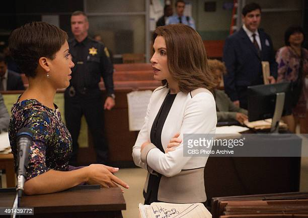 Taxed Alicia clashes with the bond court judge when she agrees to support a client's plea of innocence in a shoplifting case Also Diane is coerced by...