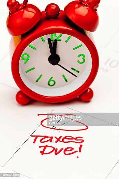 taxes due! - 12 17 months stock pictures, royalty-free photos & images