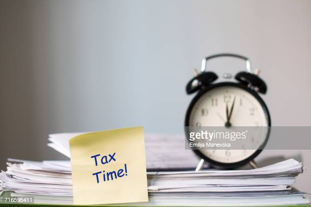 taxes - 1040 tax form stock photos and pictures