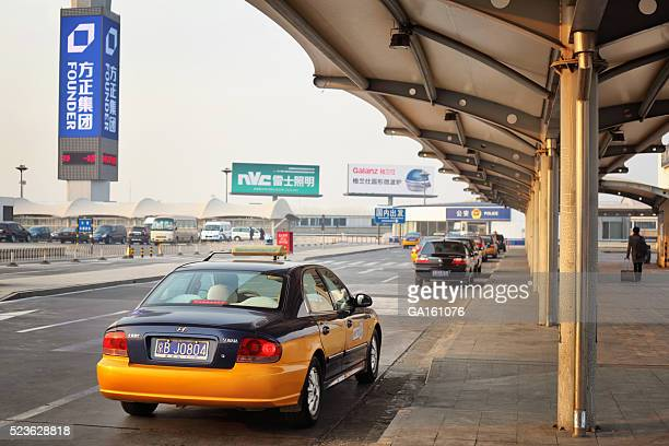 Taxi at Beijing Capital International Airport