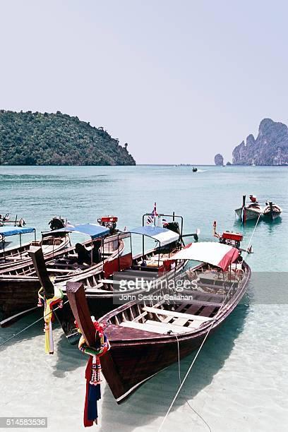 Taxi Boats at Ko Phi Phi Don