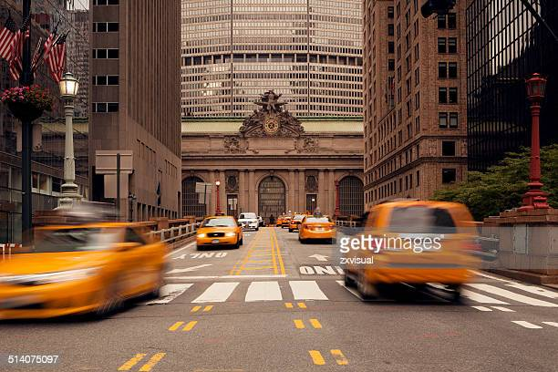 Taxi Cabs at Grand Central Terminal NYC