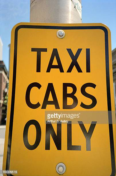 Taxi Cabs Only