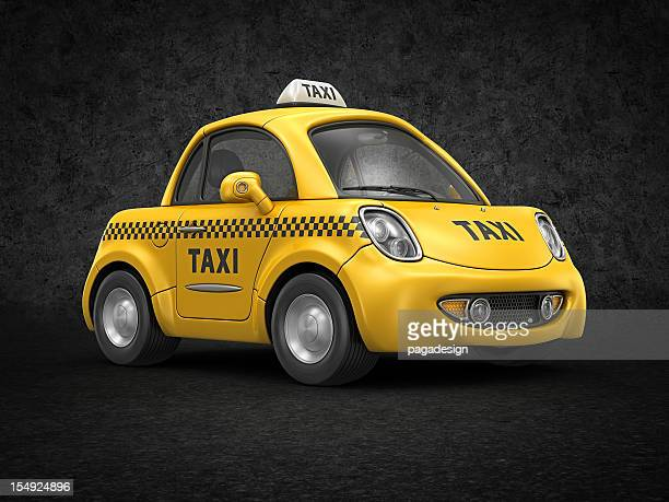 タクシーの車 - イエローキャブ ストックフォトと画像