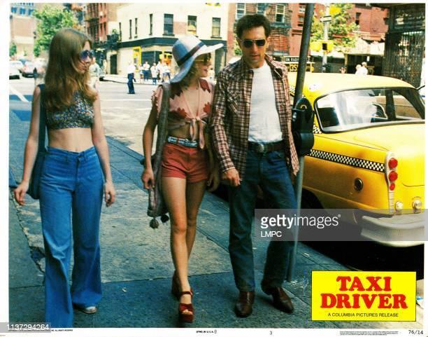 Taxi Driver lobbycard from left Garth Avery Jodie Foster Robert De Niro 1976
