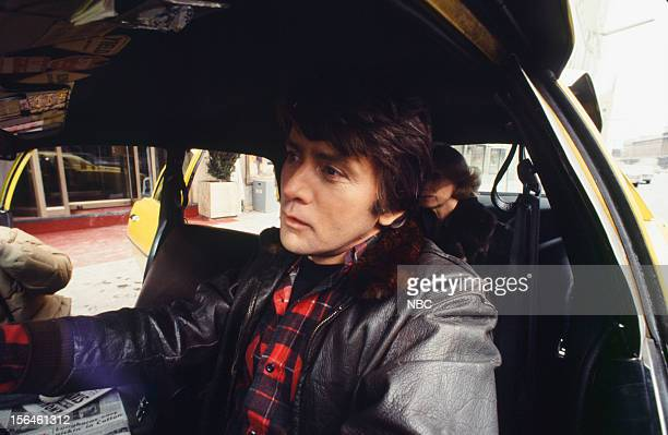 FAME 'Taxi' Episode 2704 Pictured Martin Sheen as Taxi Driver Eva Marie Saint as Passenger