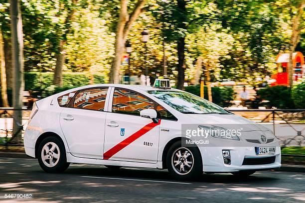 Táxi em Madrid