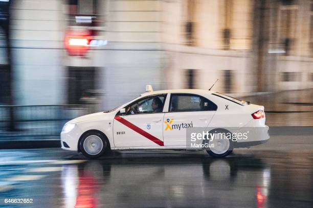 Taxi in Madrid