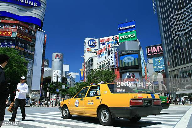 渋谷のタクシー