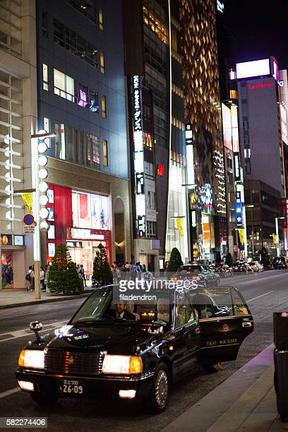 Taxi on Ginza
