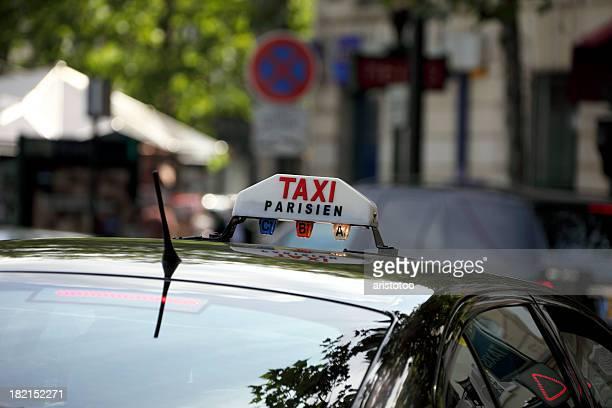 Taxi Parisien Panneau