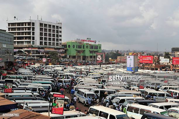 taxi park kampala, uganda - kampala stock pictures, royalty-free photos & images