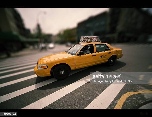 taxi - yellow taxi stock pictures, royalty-free photos & images