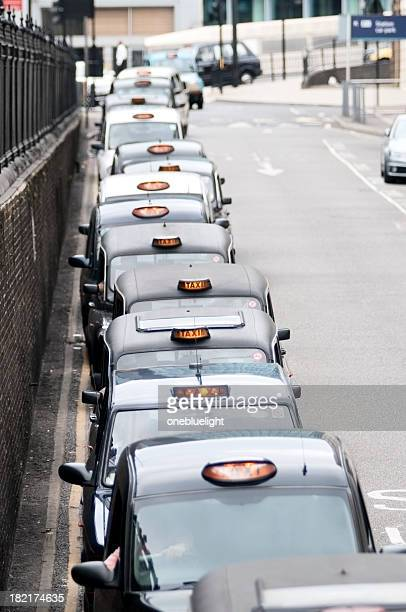 taxi - onebluelight stock pictures, royalty-free photos & images