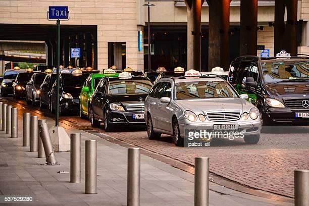 Taxi rank in Oslo