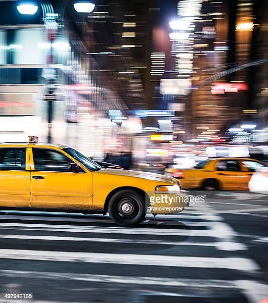 Táxi execução rápida em Nova Iorque