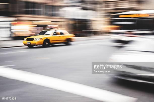 taxi Laufen auf manhattan