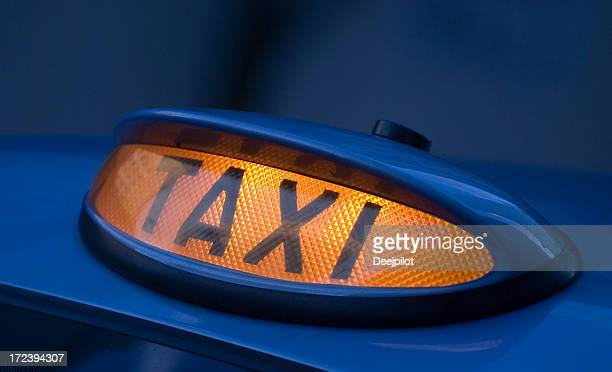 Enseigne de Taxi Les taxis noirs de Londres, Royaume-Uni
