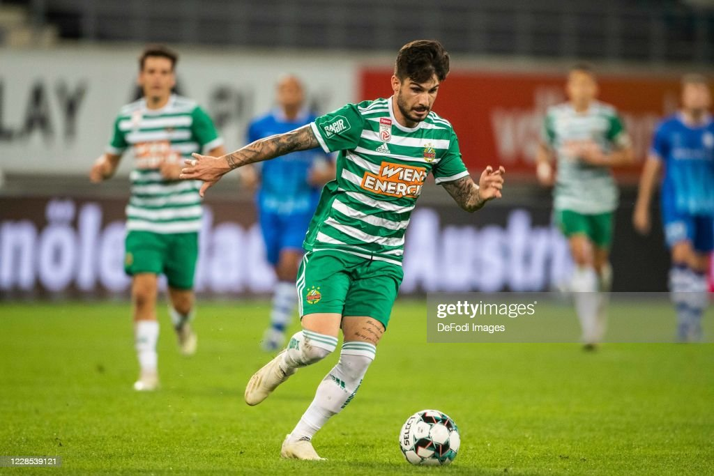KAA Gent v Rapid - UEFA Champions League Third Qualifying Round : News Photo