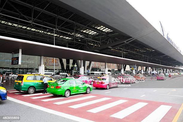 Taxis at airport Suvarnabhumi