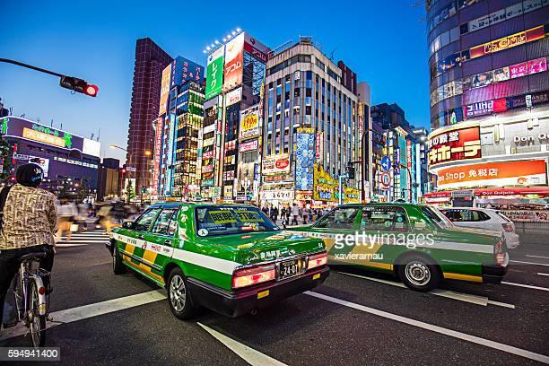 Taxis in Shinjuku