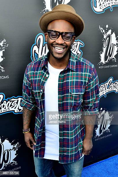 Tay James attends the Grand Opening of West Coast Customs Burbank Headquarters on December 7 2014 in Burbank California