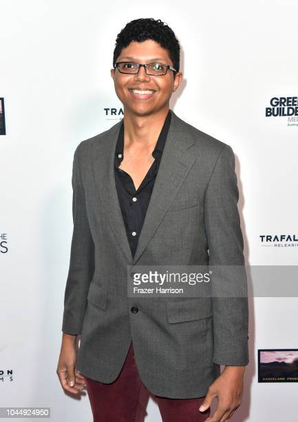 Tay Zonday attends Vision Films' 'Living In The Future's Past' at Ahrya Fine Arts Theater on October 2 2018 in Beverly Hills California