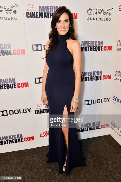Taya Kyle attends the 32nd American Cinematheque Award Presentation Honoring Bradley Cooper Presented by GRoW @ Annenberg Presentation and The 4th...