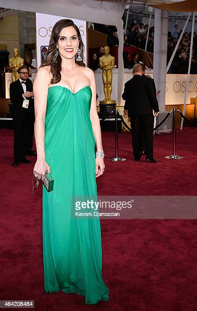 Taya Kyle attends the 87th Annual Academy Awards at Hollywood Highland Center on February 22 2015 in Hollywood California