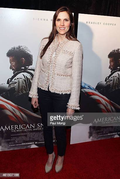 Taya Kyle attends the 'American Sniper' Washington DC Premiere at the Burke Theater at US Navy Memorial on January 13 2015 in Washington DC