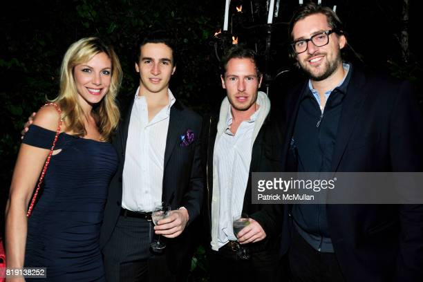Taya Ladame Nathan Rover Will Kopelman John Kaplan attend NICOLAS BERGGRUEN's 2010 Annual Party at the Chateau Marmont on March 3 2010 in West...
