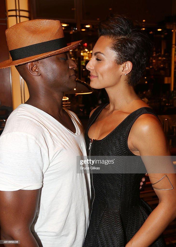 Taye Diggs dating Amanza