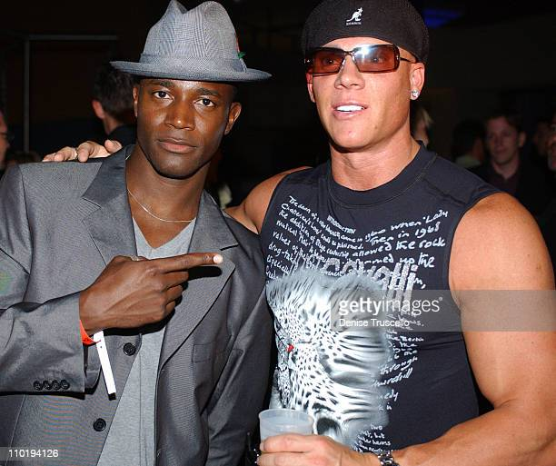 Taye Diggs and Johnny Brenden during CineVegas 2004 Movieline's Hollywood Life and The Palms Casino Resort Host the Closing Gala of CineVegas 2004 at...