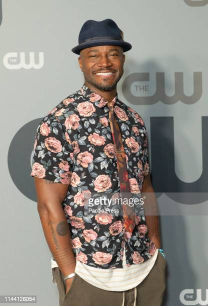 Taye Diggs attends CW Network Upfront at New York City Center