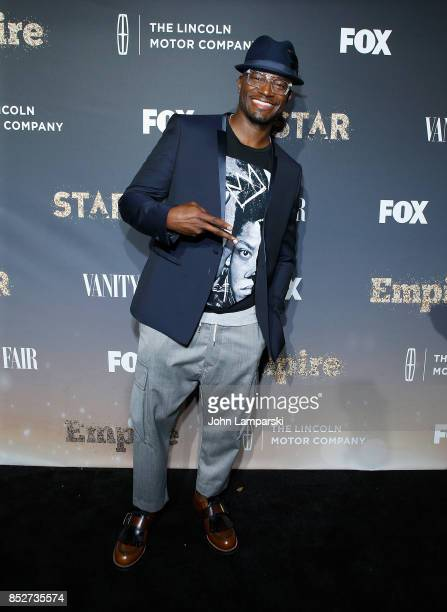 Taye Diggs attends 'Empire' 'Star' celebrate FOX's New Wednesday Night at One World Observatory on September 23 2017 in New York City