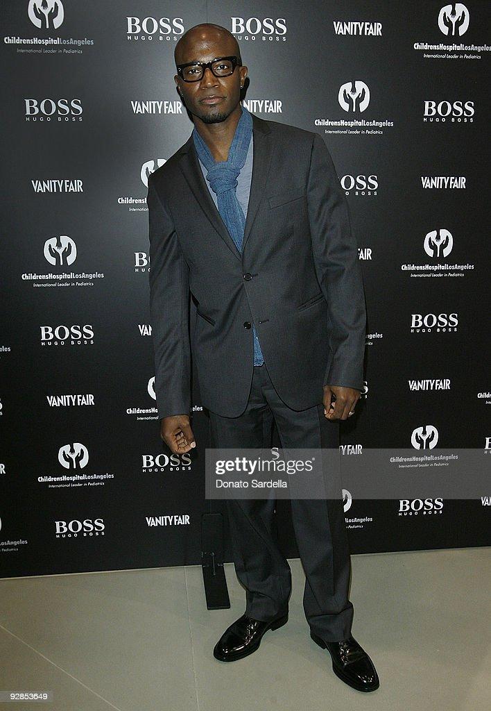 Taye Diggs attends Hugo Boss & Vanity Fair with Elizabeth Banks Host Children's Hospital Los Angeles Benefit on November 5, 2009 in Beverly Hills, California.