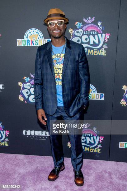 Taye Diggs attends 'My Little Pony The Movie' New York screening at AMC Lincoln Square Theater on September 24 2017 in New York City