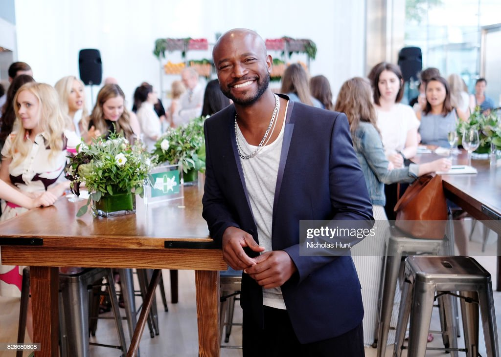 Taye Diggs attends the 2017 #DrinkGoodDoGood Campaign Launch at Little River on August 9, 2017 in New York City.