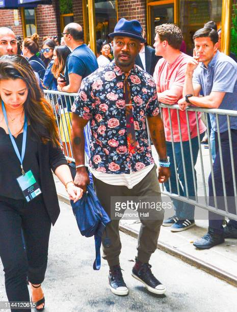 Taye Diggs attends the 2019 CW Network Upfront on May 16 2019 in New York City