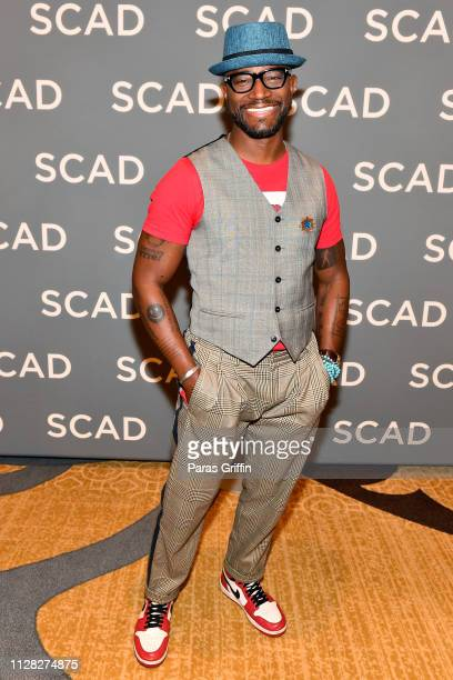Taye Diggs attends the 'All American' press junket during SCAD aTVfest 2019 at SCADshow on February 08, 2019 in Atlanta, Georgia.