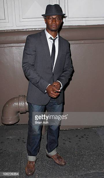 Taye Diggs attends the opening night of 'A Life in the Theatre' at The Schoenfeld Theatre on October 12 2010 in New York City