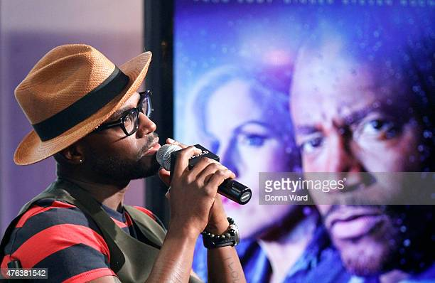 Taye Diggs discusses 'Murder' during the AOL BUILD series at AOL Studios In New York on June 8 2015 in New York City