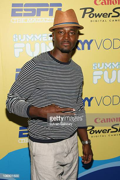 Taye Diggs during ESPN Magazine Summer Fun Party Arrivals at Pier 59 at Chelsea Piers in New York City New York United States